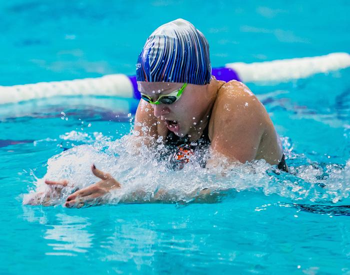 Breast Swimming Stroke