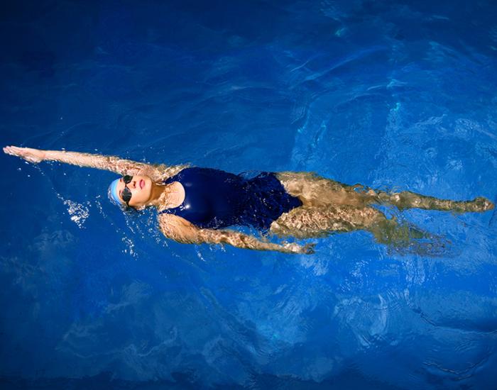 Back Swimming Stroke