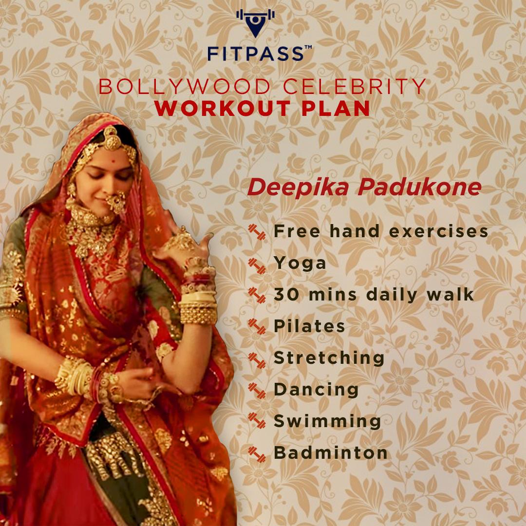 deepika padukone diet and workout