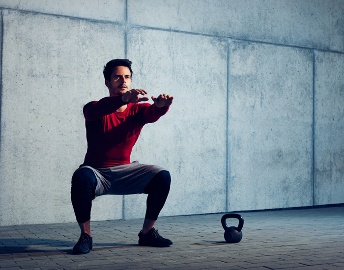 Promotes Entire Body Strength With Squats