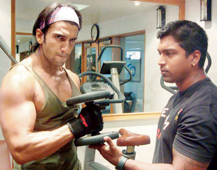 Ranveer Singh Workout