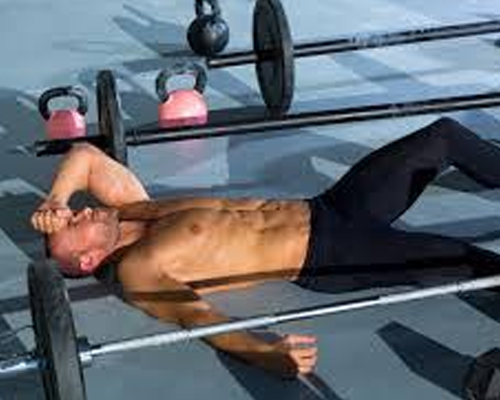 Excess training or workouts
