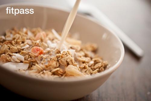 Cereals and Skim Milk