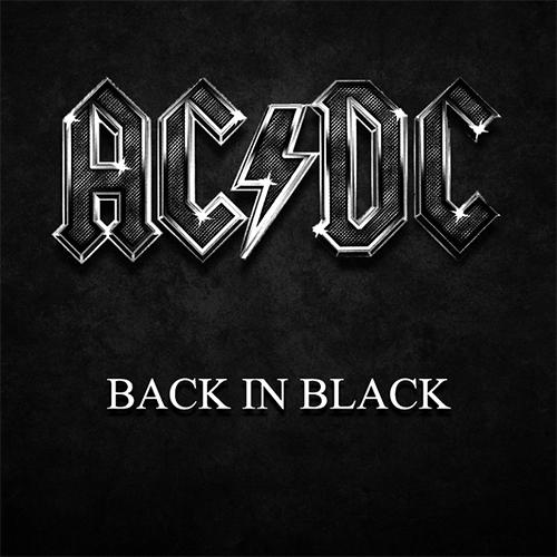 """""""Back in Black,"""" AC/DC"""