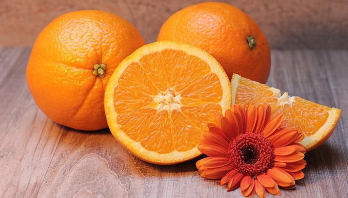 Yellow and orange - improved immune function