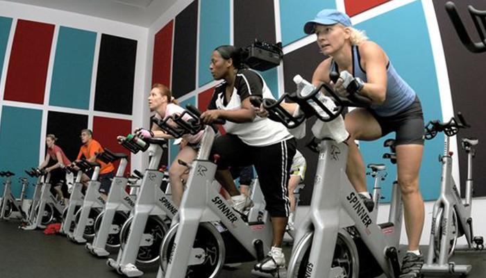 A team workout