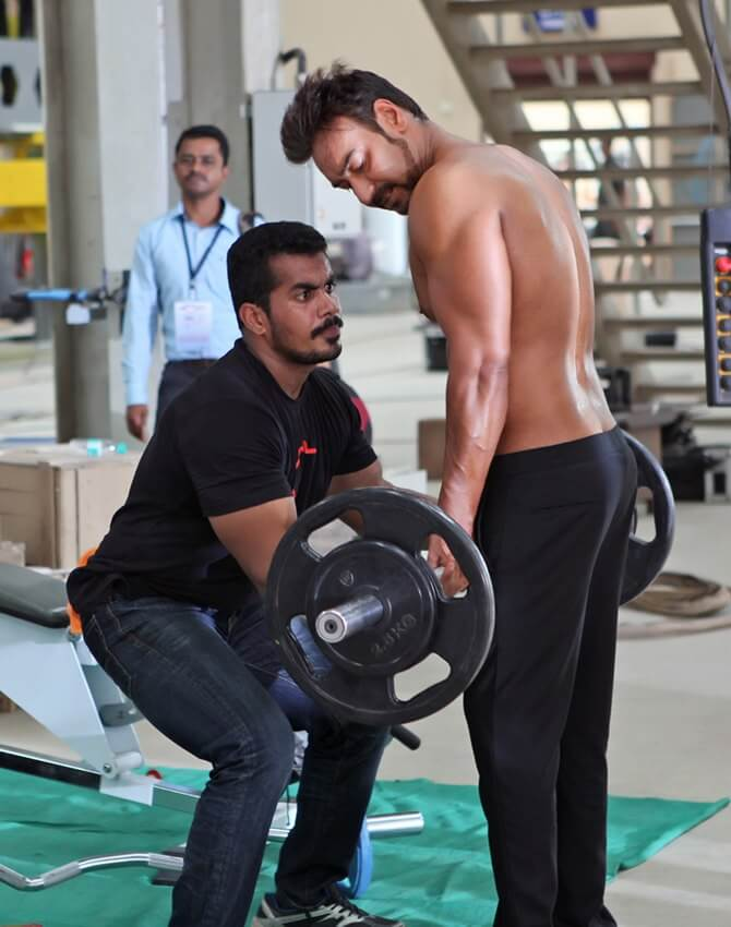 Ajay Devgan Fitness Secrets and workout routine