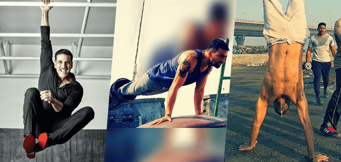 Akshay Kumar Fitness Secrets Exercises Wrokout