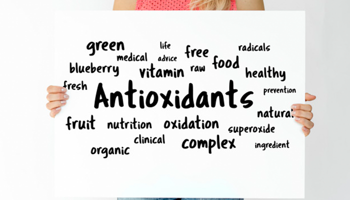 Package of antioxidants