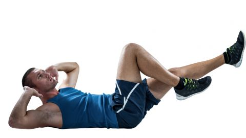 ABS Crunches to lose  belly fat
