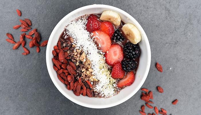Have fiber rich foods for breakfast