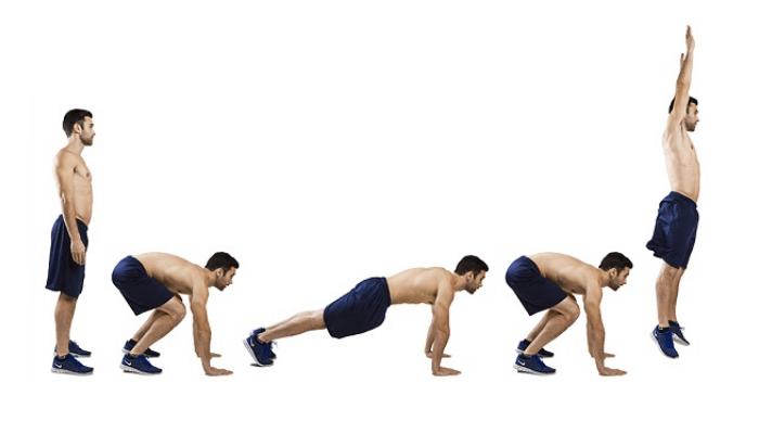 Burpee – versatile workout
