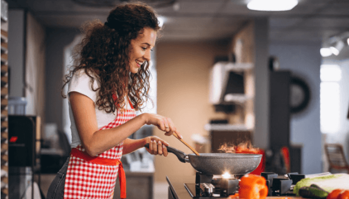 Cook at home and cook healthy