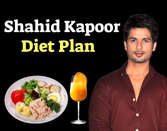 Diet Secrets of Shahid Kapoor