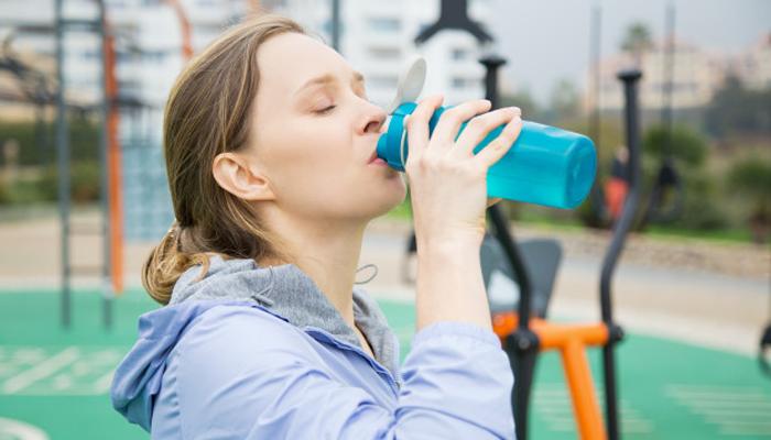 Drink enough water