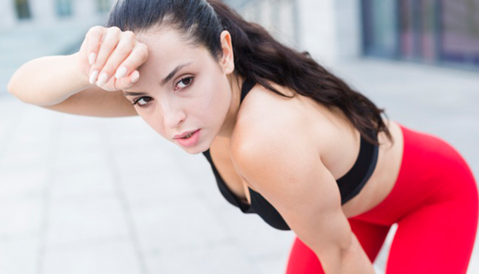 Exercise even when you don't feel like it