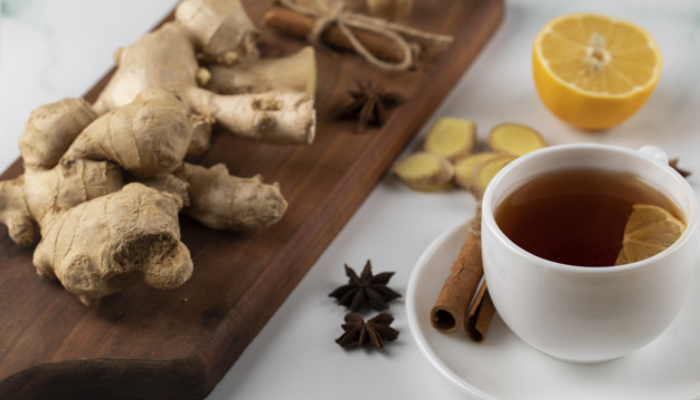 Have Ginger Tea And Put Away All Your Worries