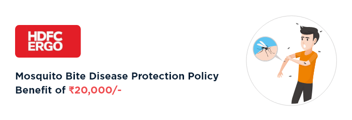 HDFC Ergo Health Insurance – Mosquito Diseases Protection Policy