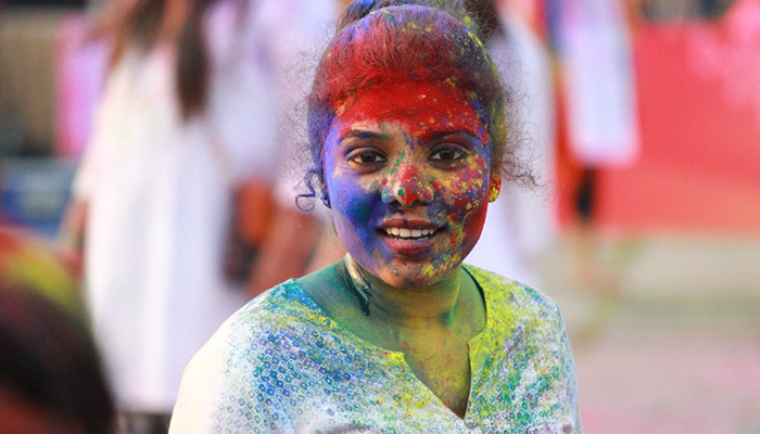 Holi day is a holiday