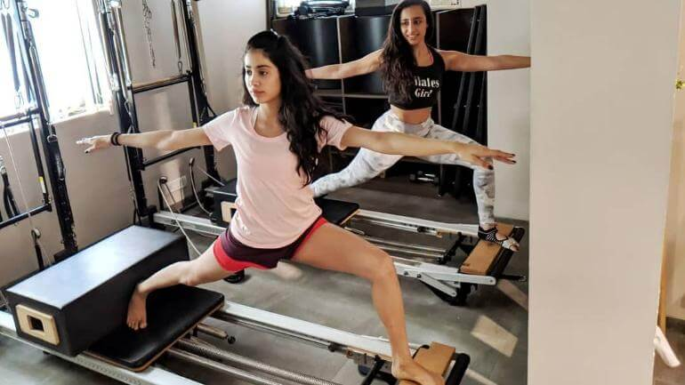 Jhanvi kapoor workout routine