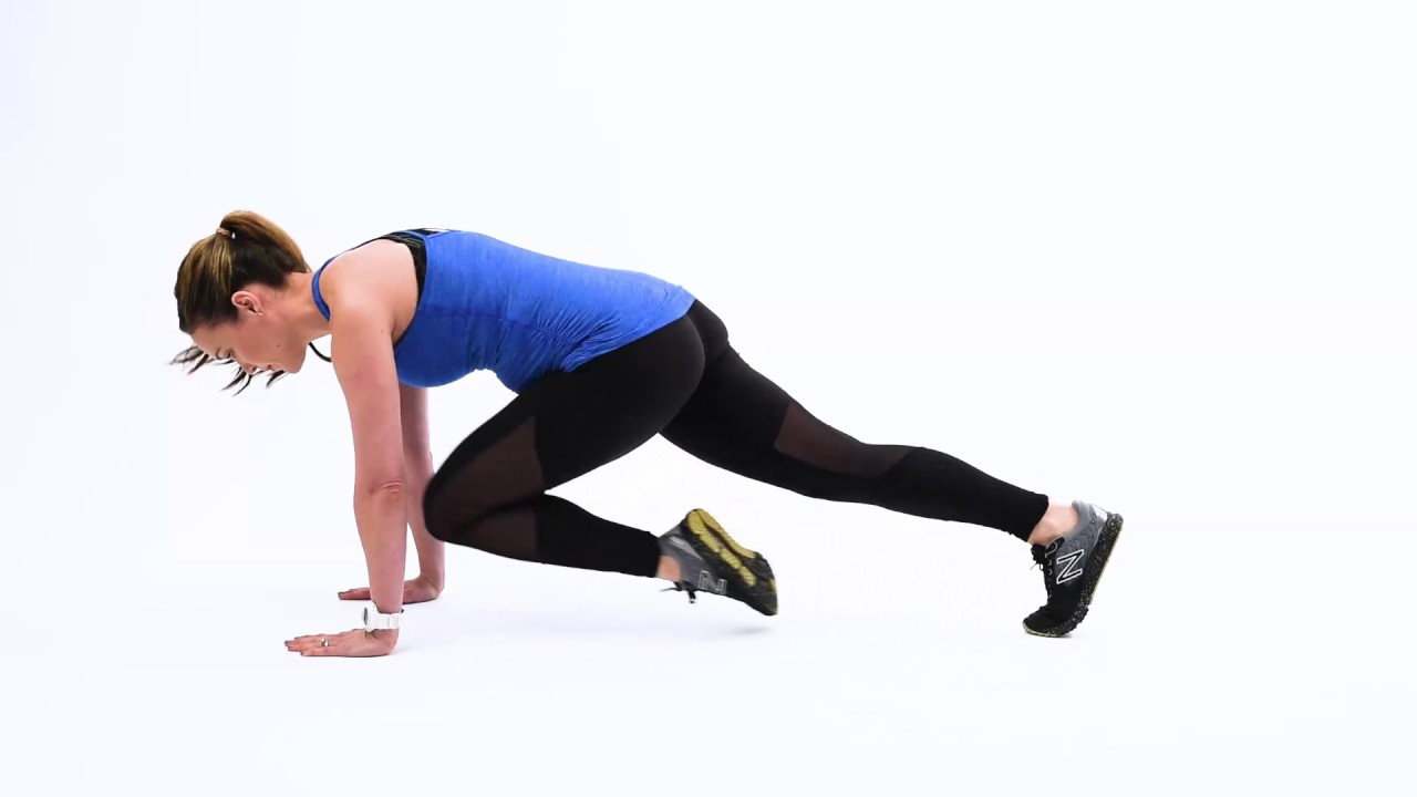 Mountain Climber with Push-Up