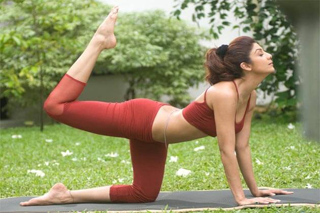 Shilpa Shetty Fittest Actress of Bollywood