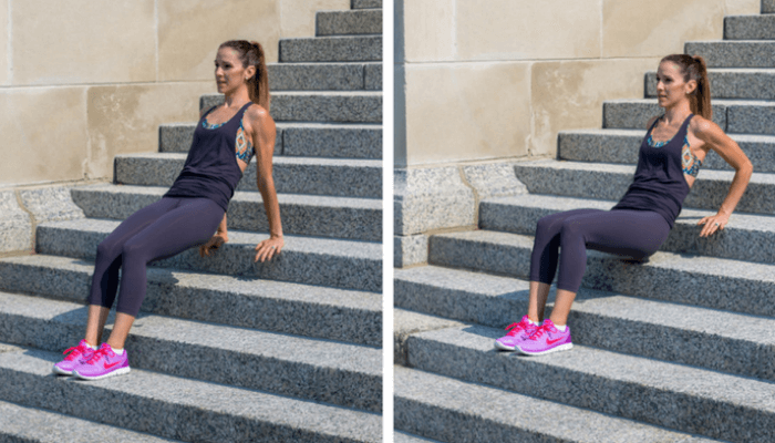 Stairs Tricep Dips
