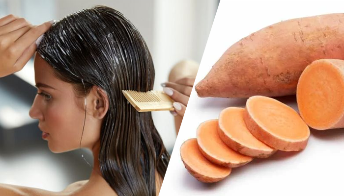 Sweet Potatoes improve your Hair and Skin