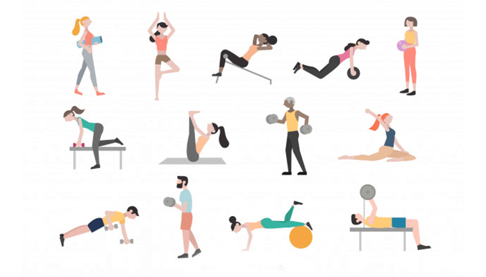 Try a variety of workouts