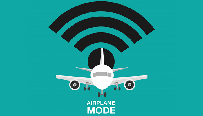 Use the airplane mode