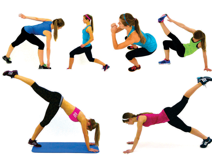 Warm up before you do your aerobic exercise