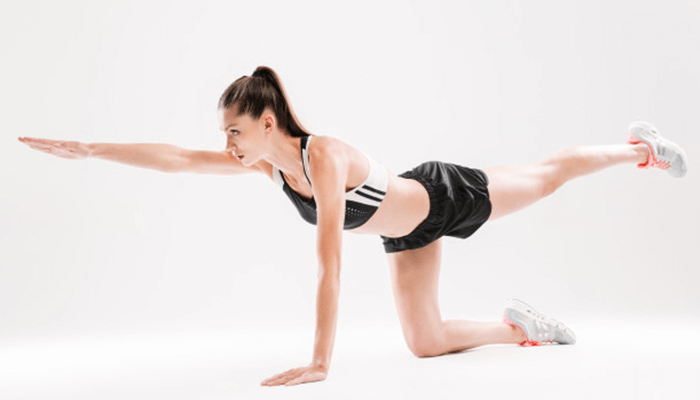 What are isometric exercises?