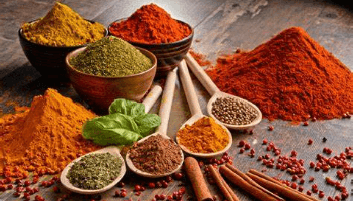 Which spice is good for flu?
