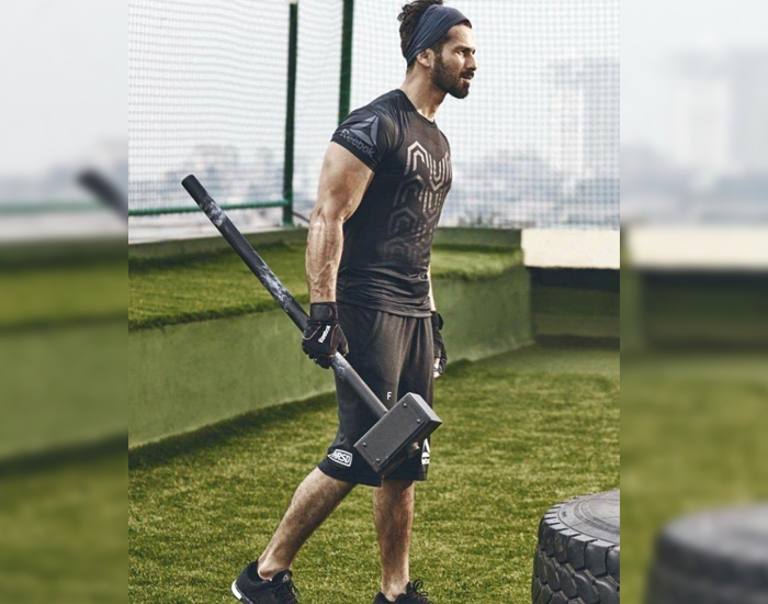 Workout Routine of Shahid