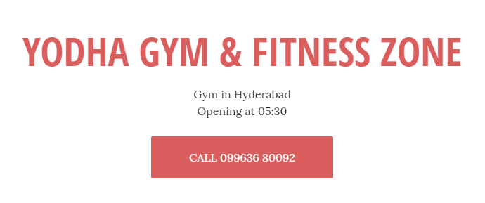 Yodha Gym & Fitness Zone