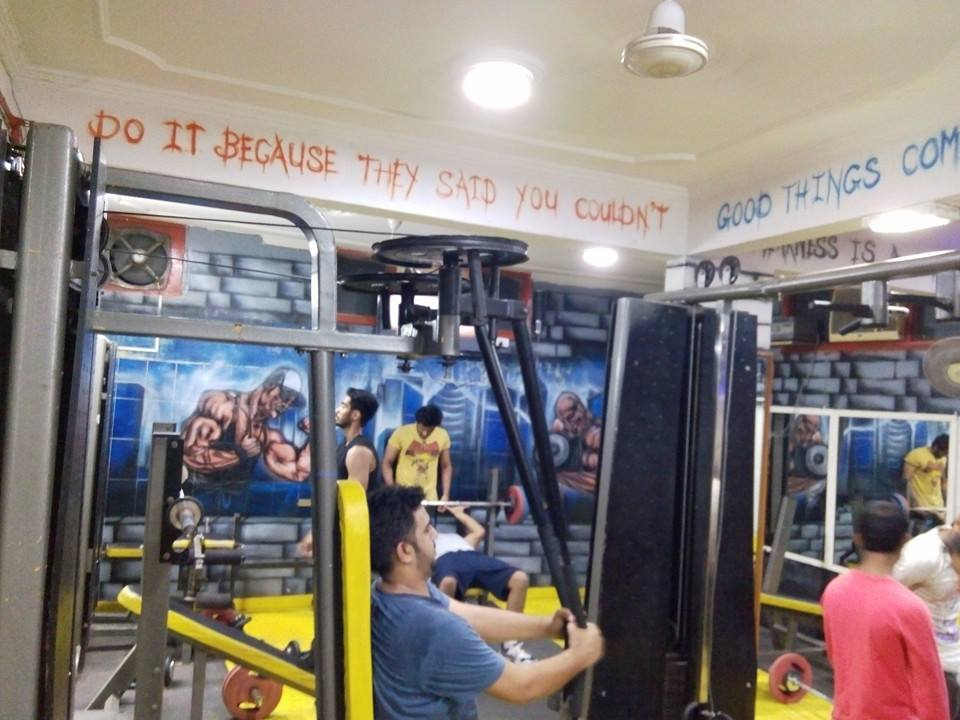 3D The Gym Vishnu Garden