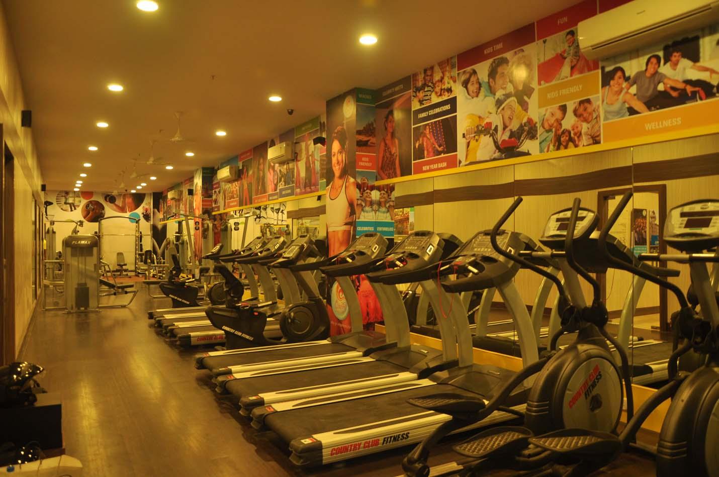 Exotic The Gym Paschim Vihar