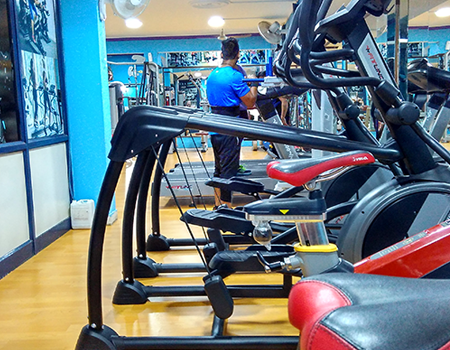 The Rockhard Gym & Fitness Club Vivek Vihar
