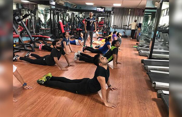 New FBI Gym Prashant Vihar