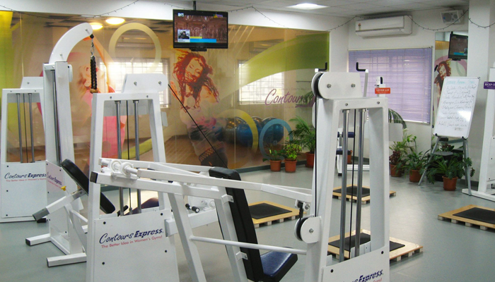 Contours Women's Fitness Studio Jayamahal
