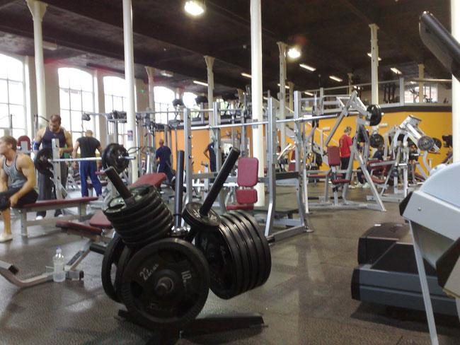 The Iron Champs Gym Sahibabad