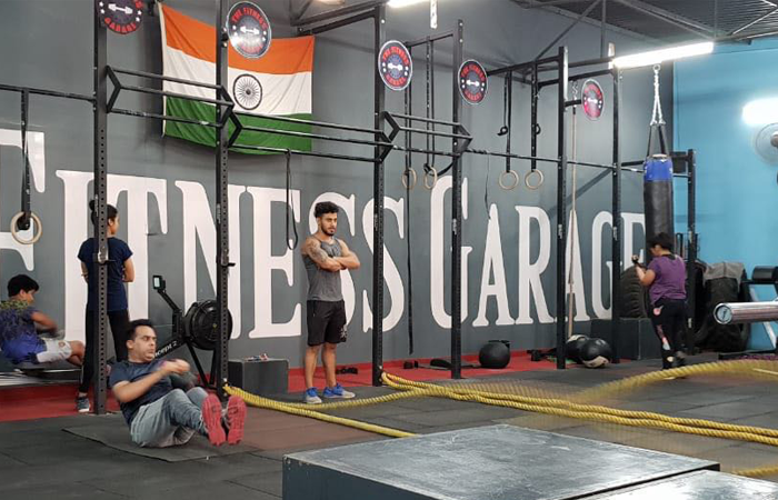 The Fitness Garage Laxman Vihar