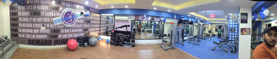 Define Body Gym Paschim Vihar