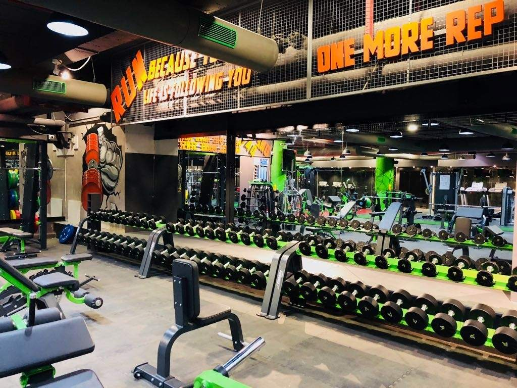 Arm Strong The Gym Satellite