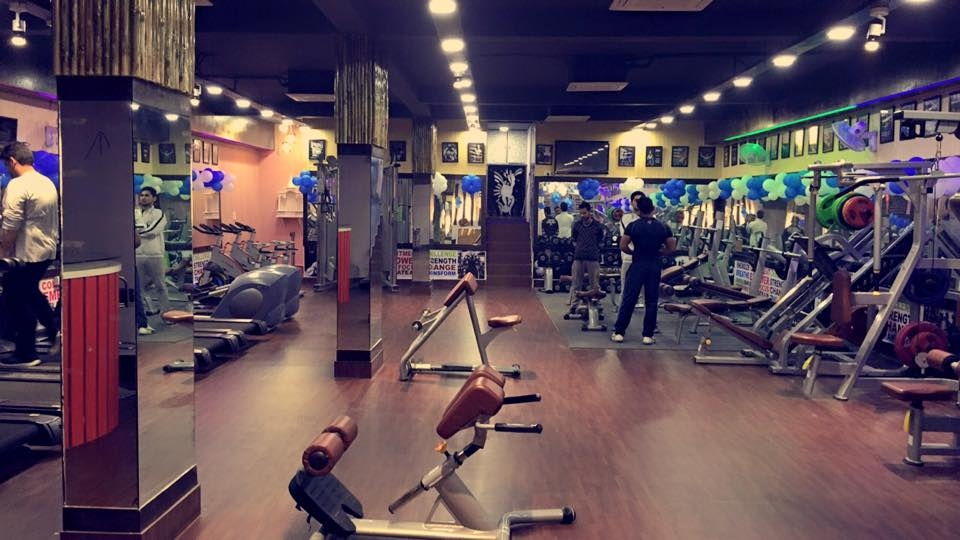 K Rebound Health Club Paschim Vihar