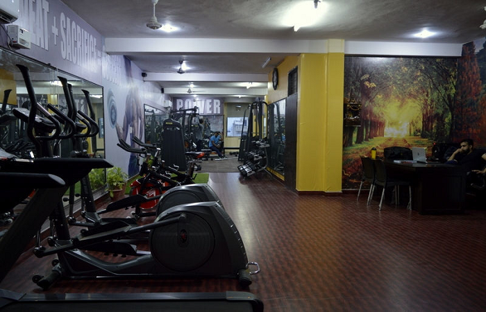 Fitness Chamber Unisex Gym Sector 43 Faridabad