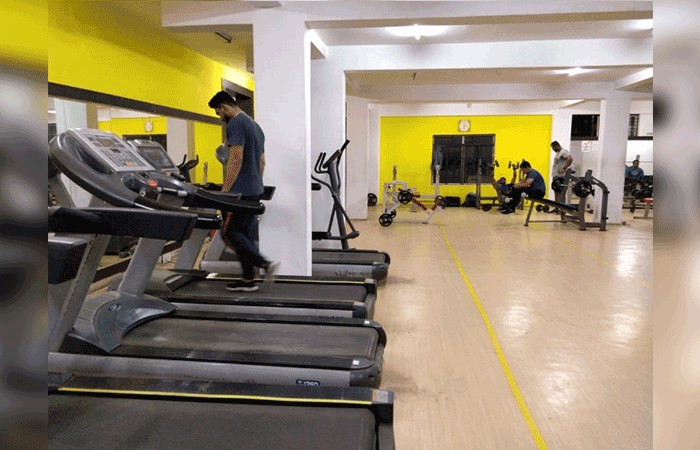 Steve's Gym Hbr Layout