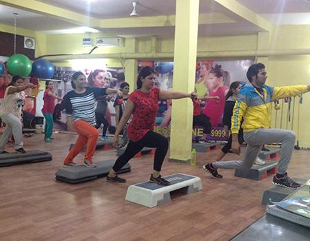 Red Rocks Fitness Studio Sector 17 Gurgaon
