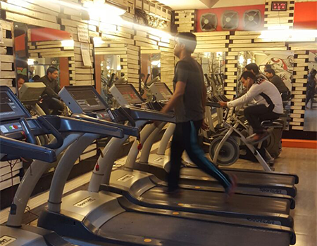 The Revolution Gym Spa Fitness Lounge Dilshad Garden